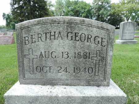 GEORGE, BERTHA - Franklin County, Ohio | BERTHA GEORGE - Ohio Gravestone Photos