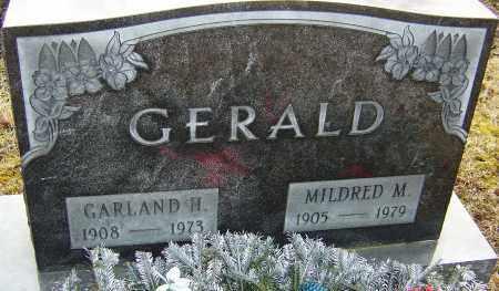 GERALD, GARLAND H - Franklin County, Ohio   GARLAND H GERALD - Ohio Gravestone Photos