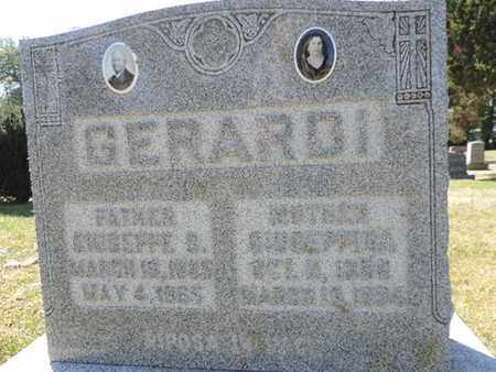 GERARDI, G - Franklin County, Ohio | G GERARDI - Ohio Gravestone Photos