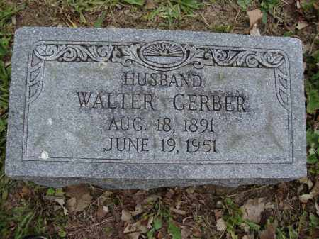 GERBER, WALTER - Franklin County, Ohio | WALTER GERBER - Ohio Gravestone Photos