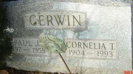 GERWIN, PAUL J - Franklin County, Ohio | PAUL J GERWIN - Ohio Gravestone Photos
