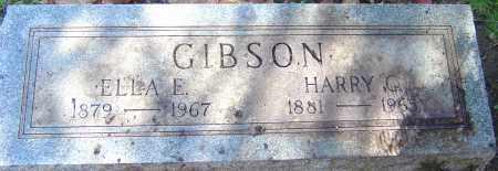 GIBSON, HARRY CLYDE - Franklin County, Ohio | HARRY CLYDE GIBSON - Ohio Gravestone Photos