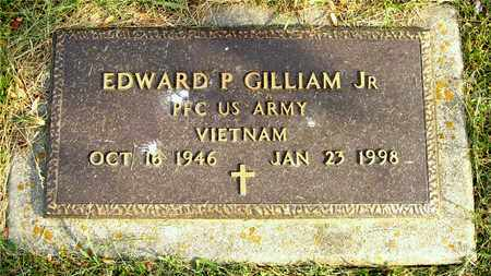 GILLIAM, EDWARD P. - Franklin County, Ohio | EDWARD P. GILLIAM - Ohio Gravestone Photos
