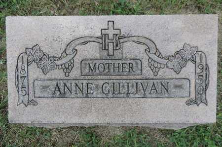 GILLIVAN, ANNE - Franklin County, Ohio   ANNE GILLIVAN - Ohio Gravestone Photos