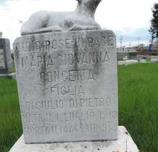 GIOVANNA, MARIA - Franklin County, Ohio | MARIA GIOVANNA - Ohio Gravestone Photos
