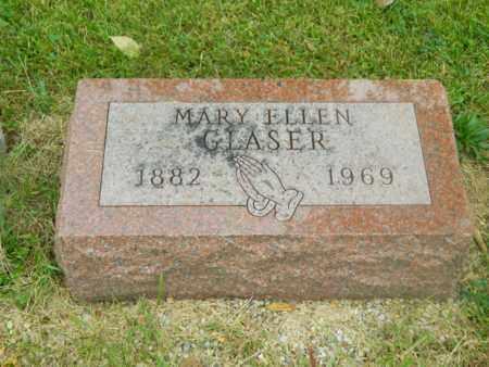 GLASER, MARY ELLEN - Franklin County, Ohio | MARY ELLEN GLASER - Ohio Gravestone Photos