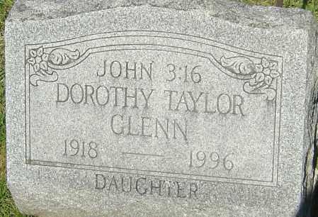 GLENN, DOROTHY - Franklin County, Ohio | DOROTHY GLENN - Ohio Gravestone Photos