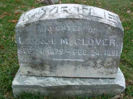 GLOVER, MYRTLE - Franklin County, Ohio | MYRTLE GLOVER - Ohio Gravestone Photos