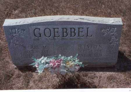 GOEBBEL, CARL M. - Franklin County, Ohio | CARL M. GOEBBEL - Ohio Gravestone Photos