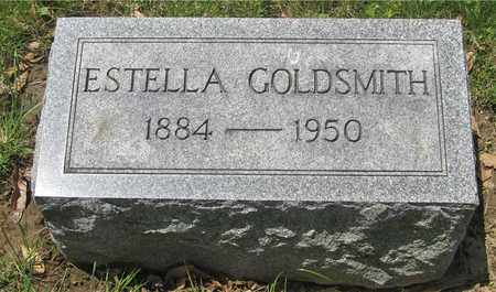 GOLDSMITH, ESTELLA - Franklin County, Ohio   ESTELLA GOLDSMITH - Ohio Gravestone Photos