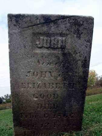 GOOD, JOHN - Franklin County, Ohio   JOHN GOOD - Ohio Gravestone Photos