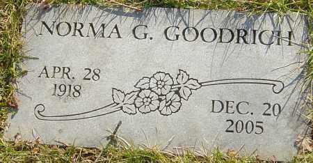 GOODRICH, NORMA G - Franklin County, Ohio | NORMA G GOODRICH - Ohio Gravestone Photos