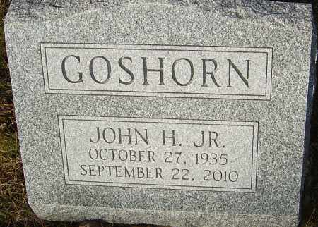 GOSHORN JR, JOHN H - Franklin County, Ohio | JOHN H GOSHORN JR - Ohio Gravestone Photos