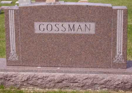 GOSSMAN, FAMILY MONUMENT - Franklin County, Ohio | FAMILY MONUMENT GOSSMAN - Ohio Gravestone Photos