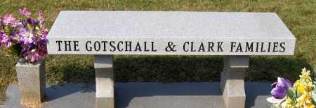 CLARK GOTSCHALL, RHEA NEDRA - Franklin County, Ohio | RHEA NEDRA CLARK GOTSCHALL - Ohio Gravestone Photos