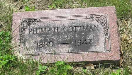 GOTTMAN, PHILLIP H. - Franklin County, Ohio | PHILLIP H. GOTTMAN - Ohio Gravestone Photos