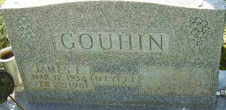 GOUHIN, JAMES E - Franklin County, Ohio | JAMES E GOUHIN - Ohio Gravestone Photos