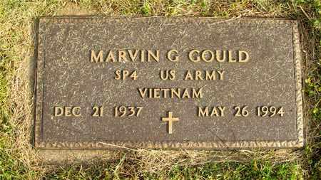 GOULD, MARVIN G. - Franklin County, Ohio | MARVIN G. GOULD - Ohio Gravestone Photos