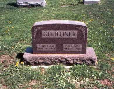 GOULDNER, P. WILLIAM - Franklin County, Ohio | P. WILLIAM GOULDNER - Ohio Gravestone Photos