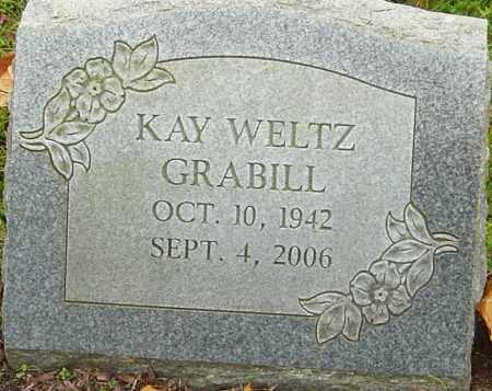 GRABILL, KAY - Franklin County, Ohio   KAY GRABILL - Ohio Gravestone Photos