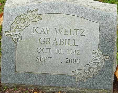WELTZ GRABILL, KAY - Franklin County, Ohio | KAY WELTZ GRABILL - Ohio Gravestone Photos