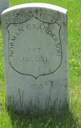 GRANDERSON, NORMAN - Franklin County, Ohio | NORMAN GRANDERSON - Ohio Gravestone Photos
