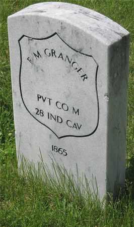 GRANGER, F. M. - Franklin County, Ohio   F. M. GRANGER - Ohio Gravestone Photos