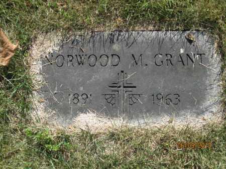 GRANT, NORWOOD MERRITT - Franklin County, Ohio | NORWOOD MERRITT GRANT - Ohio Gravestone Photos