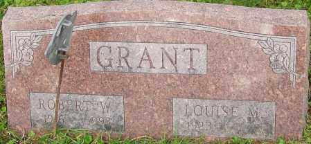GRANT, ROBERT - Franklin County, Ohio | ROBERT GRANT - Ohio Gravestone Photos