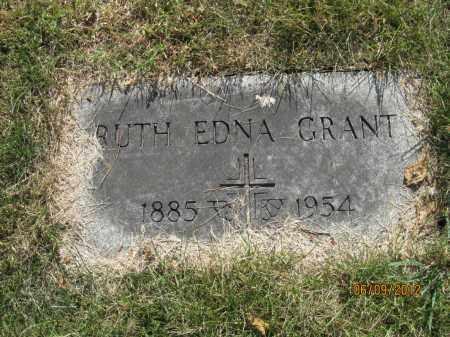 SWIFT GRANT, RUTH EDNA - Franklin County, Ohio | RUTH EDNA SWIFT GRANT - Ohio Gravestone Photos