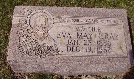 GRAY, EVA MAY - Franklin County, Ohio | EVA MAY GRAY - Ohio Gravestone Photos