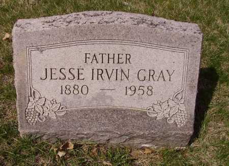 GRAY, JESSE IRVIN - Franklin County, Ohio   JESSE IRVIN GRAY - Ohio Gravestone Photos