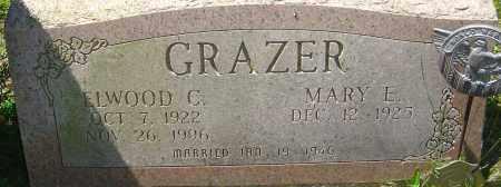 GRAZER, ELWOOD C - Franklin County, Ohio | ELWOOD C GRAZER - Ohio Gravestone Photos