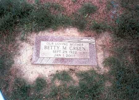 RHOADS GREEN, BETTY M. - Franklin County, Ohio | BETTY M. RHOADS GREEN - Ohio Gravestone Photos