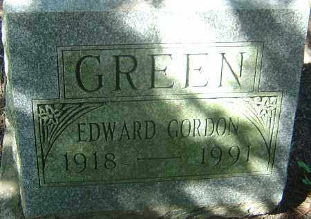 GREEN, EDWARD GORDON - Franklin County, Ohio | EDWARD GORDON GREEN - Ohio Gravestone Photos