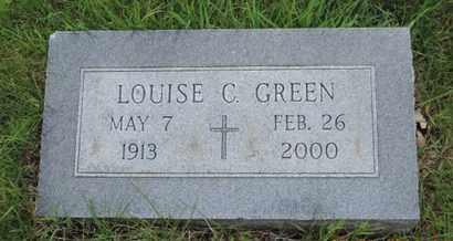 GREEN, LOUISE C. - Franklin County, Ohio   LOUISE C. GREEN - Ohio Gravestone Photos