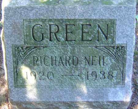 GREEN, RICHARD NEIL - Franklin County, Ohio | RICHARD NEIL GREEN - Ohio Gravestone Photos