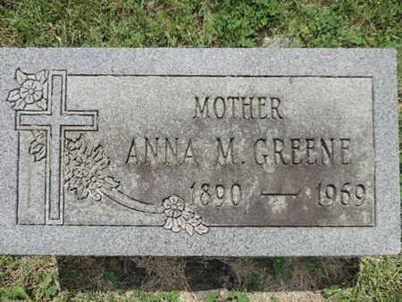 GREENE, ANNA M. - Franklin County, Ohio   ANNA M. GREENE - Ohio Gravestone Photos