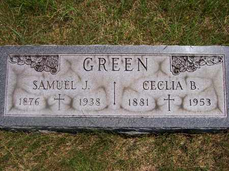 GAVIN GREENE, CECILIA B. - Franklin County, Ohio | CECILIA B. GAVIN GREENE - Ohio Gravestone Photos
