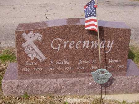 GREENWAY, R. SHELBY - Franklin County, Ohio | R. SHELBY GREENWAY - Ohio Gravestone Photos
