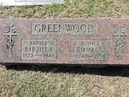 GREENWOOD, BARZILLA - Franklin County, Ohio   BARZILLA GREENWOOD - Ohio Gravestone Photos
