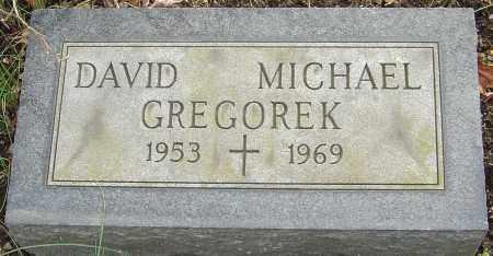 GREGOREK, DAVID MICHAEL - Franklin County, Ohio | DAVID MICHAEL GREGOREK - Ohio Gravestone Photos