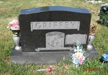 GRIFFEY, JOAN - Franklin County, Ohio | JOAN GRIFFEY - Ohio Gravestone Photos