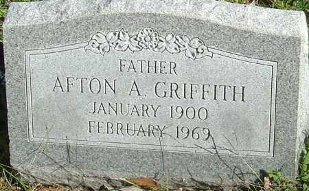 GRIFFITH, AFTON A - Franklin County, Ohio | AFTON A GRIFFITH - Ohio Gravestone Photos
