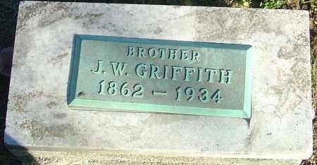 GRIFFITH, J W - Franklin County, Ohio | J W GRIFFITH - Ohio Gravestone Photos