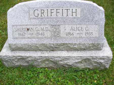 GRIFFITH, SHERIDAN C. - Franklin County, Ohio | SHERIDAN C. GRIFFITH - Ohio Gravestone Photos