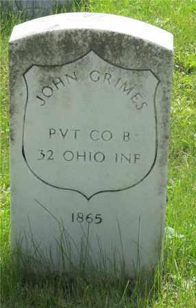 GRIMES, JOHN - Franklin County, Ohio   JOHN GRIMES - Ohio Gravestone Photos