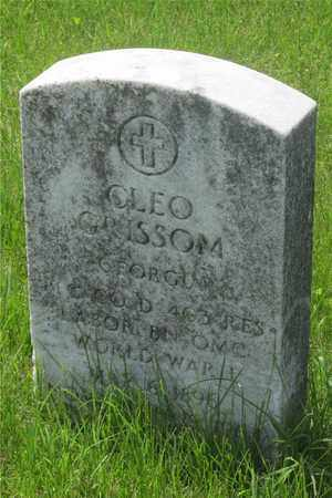 GRISSOM, CLEO - Franklin County, Ohio | CLEO GRISSOM - Ohio Gravestone Photos