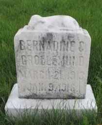 GROLLEMUND, BERNADINE C. - Franklin County, Ohio | BERNADINE C. GROLLEMUND - Ohio Gravestone Photos