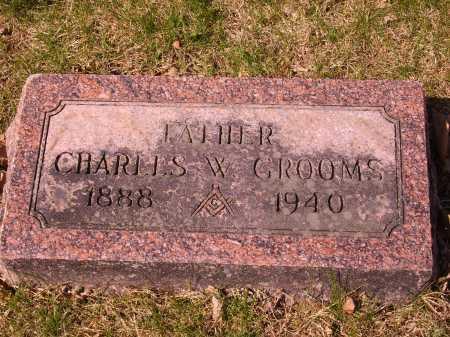 GROOMS, CHARLES E. - Franklin County, Ohio | CHARLES E. GROOMS - Ohio Gravestone Photos